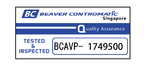 BCV Premium Actuated Package - QA Sticker